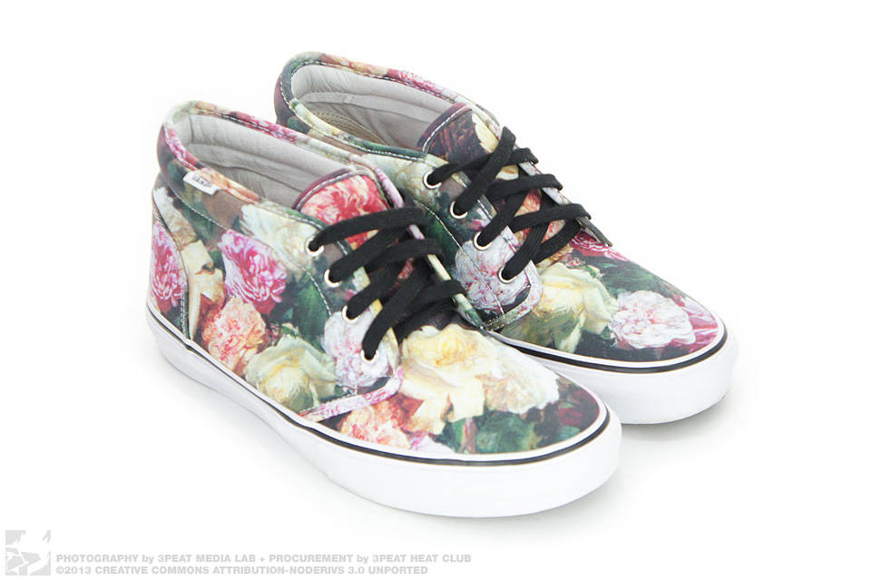 f307eb4216 SUPREME X VANS FLORAL PRINT CHUKKA 95 PCL POWER CORRUPTION LIES - BLACK  US10 on The Hunt