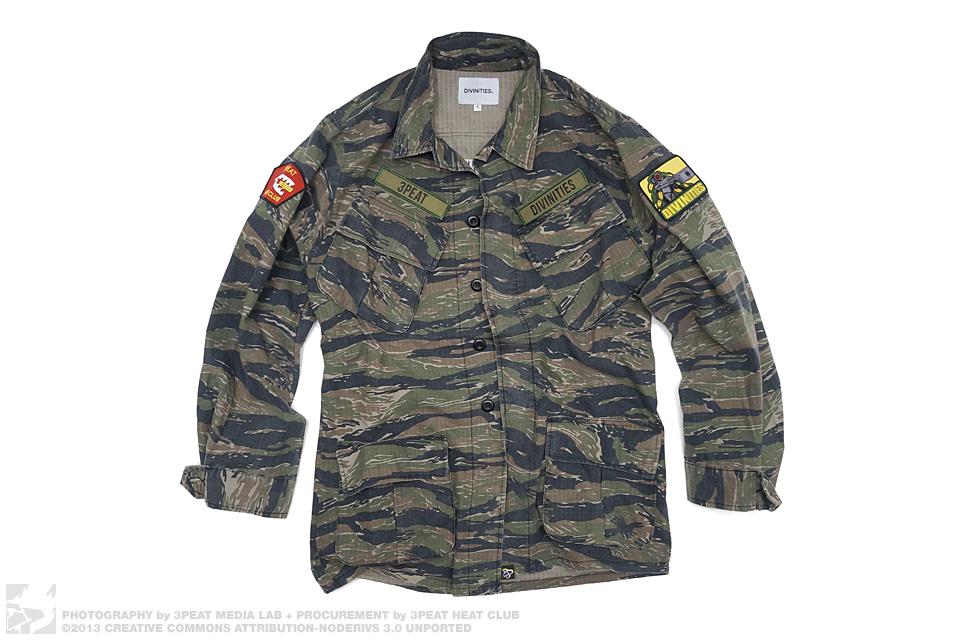 M.W.T.B./D.L.T.R. Tiger Camo Lightweight Field Jacket, main photo