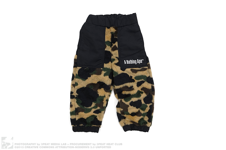 1st Camo Boa Fur Pants, main photo