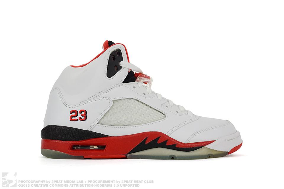 """Air Jordan 5 Retro """"Fire Red"""", main photo"""