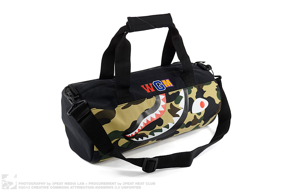 1st Camo Shark Medium Duffel Bag, main photo