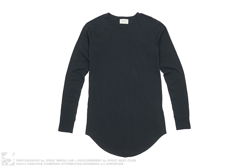 Third Collection Elongated Long Sleeve Tee, main photo
