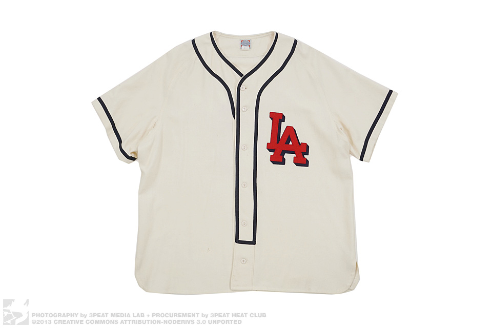 LA 8 Wool Baseball Jersey, main photo