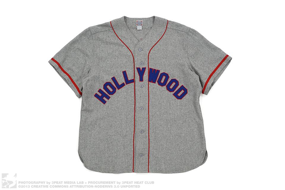 Hollywood Star Wool Baseball Jersey, main photo