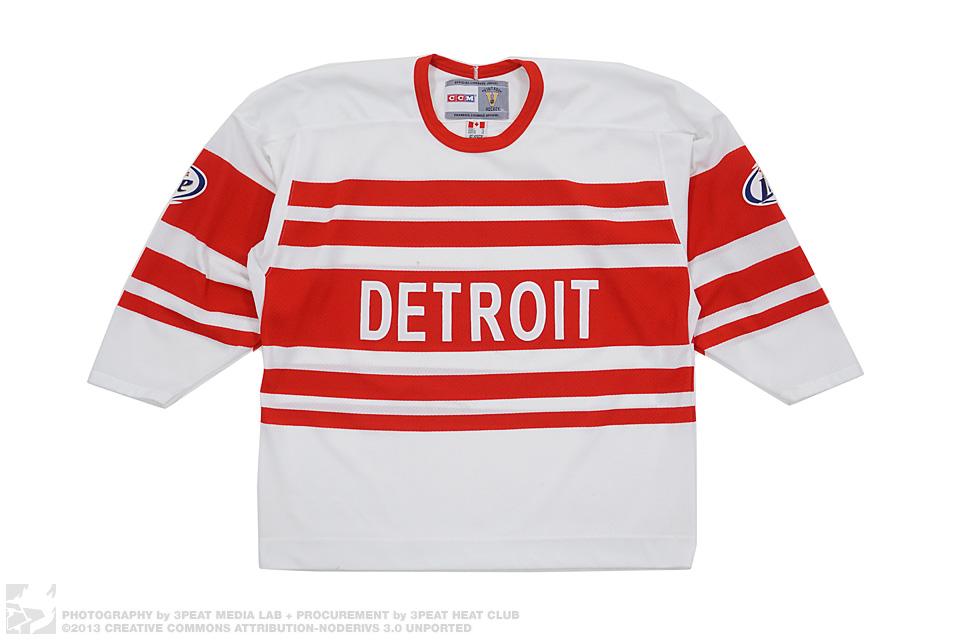 Vintage Detriot Hockey Jersey, main photo