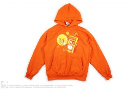 CARTOON TENNIS BALL PULL-OVER HOODIE by BBC/Ice Cream
