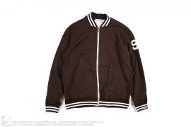 TACKLE TWILL RAYON VARSITY by A Bathing Ape