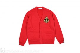EMBLEM SWEAT CARDIGAN  by A Bathing Ape