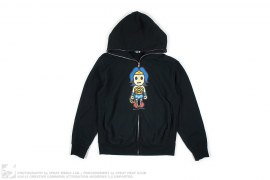 MILO WONDER WOMAN HOODIE by A Bathing Ape x DC Comics