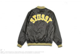 CROSSBONE NYLON VARSITY by Stussy