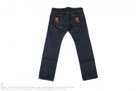ELMBLEM PATCH RAW DENIM by A Bathing Ape