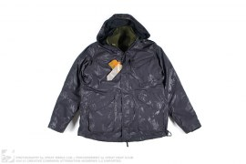 WATERPROOF JACQUARD WING JACKET WITH FLEECE LINER by Maharishi