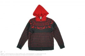 REINDEER KNIT HOODIE by BBC/Ice Cream