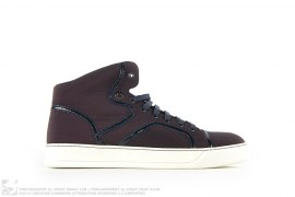 Nylon High Top Sneakers by Lanvin