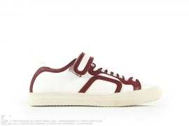 102 TRIM TEXT CALF LOW TOP SNEAKERS by Pierre Hardy