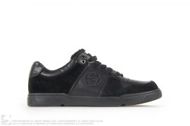 ALL BLACK LOW TOP SNEAKERS by Gucci