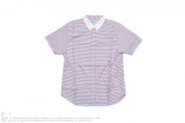 CHECK SHORT SLEEVE BUTTON-UP by MackDaddy