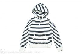 BORDER SAILOR PULL-OVER HOODIE by A Bathing Ape