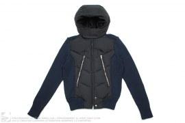 Kiyoshi Yoneno Down Sweater Jacket by Ato Matsumoto