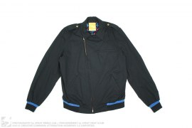 Mesh Lined Cotton Riders Jacket by Swagger