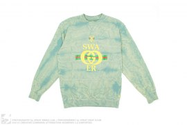 Swathletic Distressed Gucci-like Crewneck Sweatshirt by Swagger