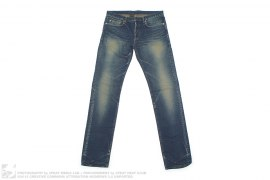 Narrow Cut Vintage Wash Denim by Christian Dior