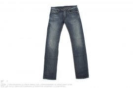 Narrow Cut Dark Vintage Wash Denim by Christian Dior