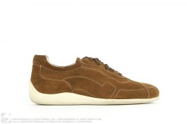 SUEDE LOW TOP DRIVER SNEAKERS by Salvatore Ferragamo