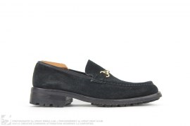 SUEDE HORSEBIT MOCCASIN by Gucci