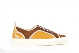LEATHER LOW TOP SNEAKERS by Tsumori Chisato