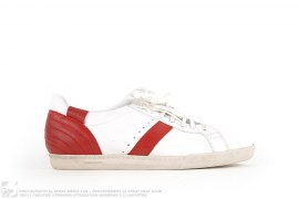 LOW TOP LEATHER SNEAKERS by Christian Dior