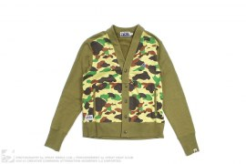 BAPEAREL PART CAMO ZIP POCKET SWEAT CARDIGAN by A Bathing Ape