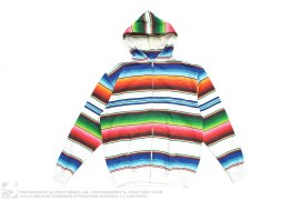 Rainbow Border Hoodie by Swagger