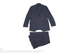 Polo Virgin Wool Rayon Lined Blue Label Italian Suit by Ralph Lauren