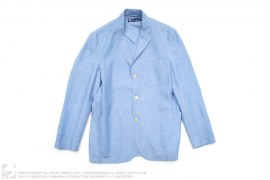 Polo Chambray Cotton Blazer Sport Coat by Ralph Lauren