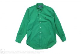 Polo Logo Button-Up Shirt by Ralph Lauren