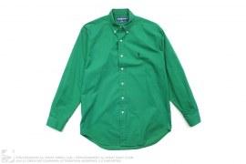 Polo Logo Button-Up Shirt by Ralph Lauren