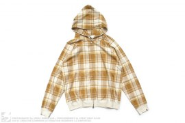 PLAID LIGHT WEIGHT SPRING HOODIE by A Bathing Ape