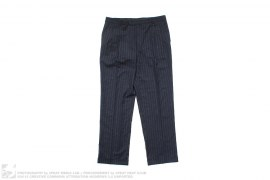 Wool Blend Pin Stripe Pants by Ralph Lauren