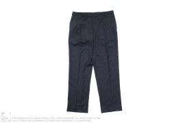 Wool Blend Pin Stripe Pants by Ralph Lauren