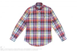 Polo Logo Plaid Button-Up Shirt by Ralph Lauren