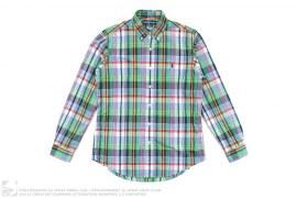 Polo Logo Plaid Button-Up Shirt by Ralph Lauren