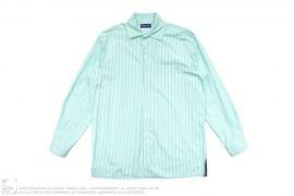 Purple Label Striped Button-Up Shirt by Ralph Lauren