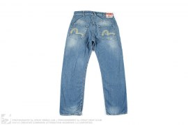 EU Edition Seagull Vintage Wash Denim by Evisu