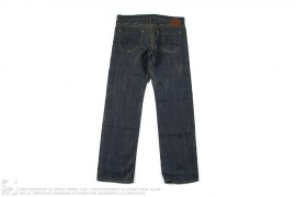 10th Anniversary GoldSign Gold Thread Denim Made In USA by Evisu