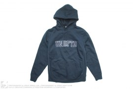 2 Tone U Logo Back Print Pull-Over Hoodie by Undefeated