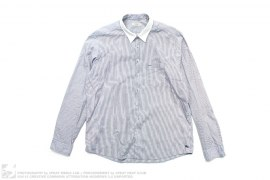 White Collar Signature Dress Shirt by Burberry
