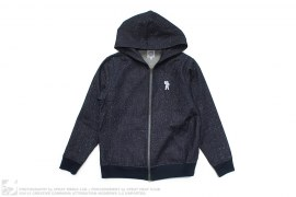 Speckle Galaxy Denim Hooded Jacket by BBC/Ice Cream