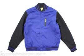 Nylon Varsity Jacket by Nike Sportswear