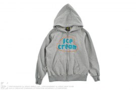 Ice Cream Girl Graphic Full-Zip Hoodie by BBC/Ice Cream